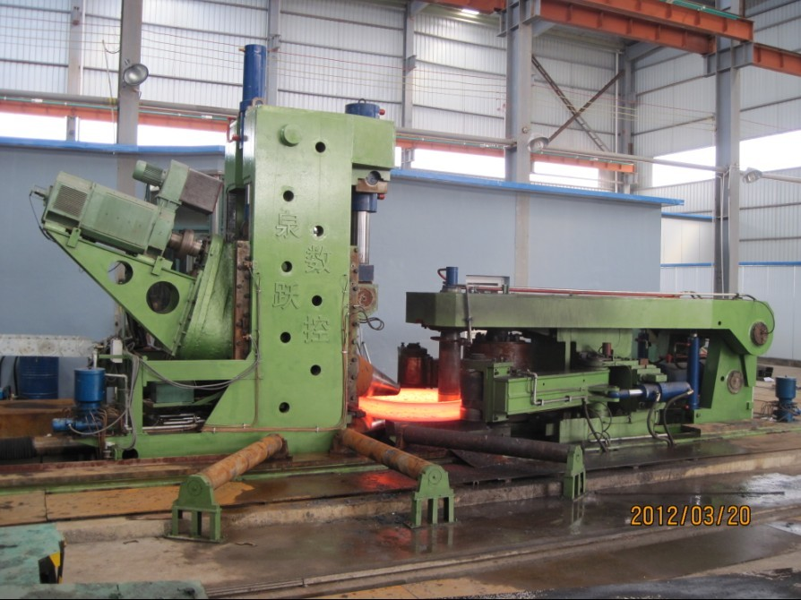 CNC diameter axial ring rolling machine - D53K series
